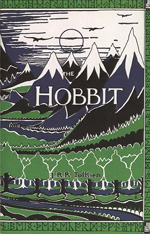 An image of the bookcover for The Hobbit