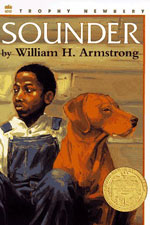 An image of the bookcover for Sounder